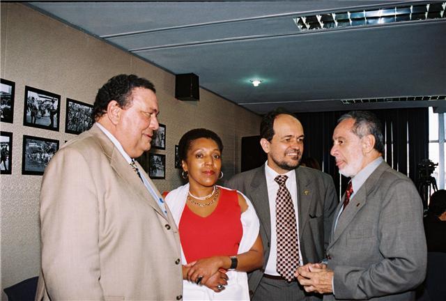 Zezéu, Walter Pinheiro e os conselheiros, Marina da Silva Steinbruch e  Márcio Gontijo.