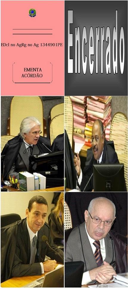 Ministros da PRIMEIRA TURMA do Superior Tribunal de Justiça-2