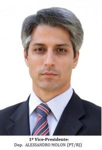 1º Vice-Presidente - ALESSANDRO MOLON (PT-RJ)-B