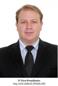 3º Vice-Presidente - LUIZ CARLOS (PSDB-AP) - B