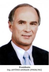 Presidente - ANTÔNIO ANDRADE (PMDB-MG) - B