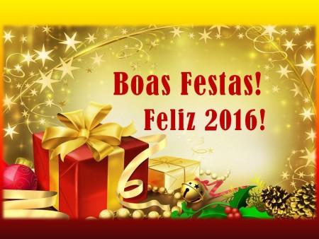 Boas Festas 2016
