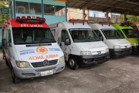 ambulâncias recuperadas foram entregues a secretaria de Saúde de Duque de Caxias (1)
