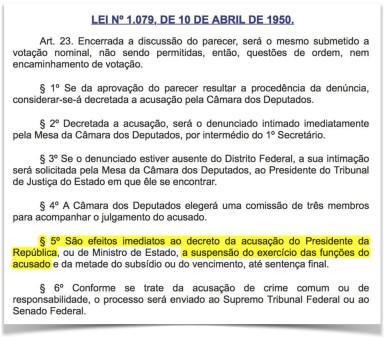 Lei-1079-afastamento-presidente